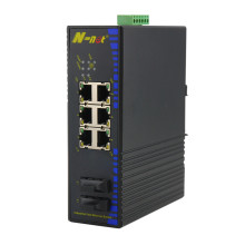 Fast Ethernet industriel Poe Switch