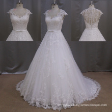 Sweetheart Light Ivory Sexy French Lace Wedding Dress