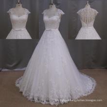 Sweetheart Light Ivory Sexy French Lace Wedding Dress