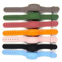 Bracelet rechargeable pour distributeur de désinfectant pour les mains Bracelet