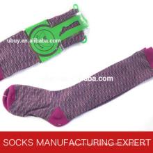 100% Baumwolle der Frau Coloful Tube Sock (UBM1054)