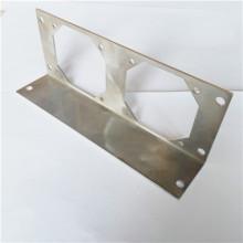 Sheet metal laser cutting plate aluminum lens holder