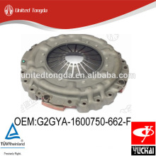 Original Yuchai engine YC4E clutch cover G2GYA-1600750-662-F for Chinese truck