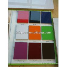 Viele Arten von Farbe UV furniert MDF