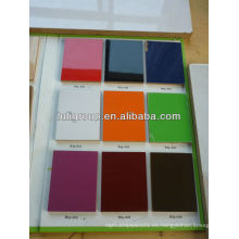 Muchos tipos de color MDF chapado en UV