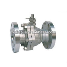 2PC Flanged End Stainless Steel Ball Valve 300LB