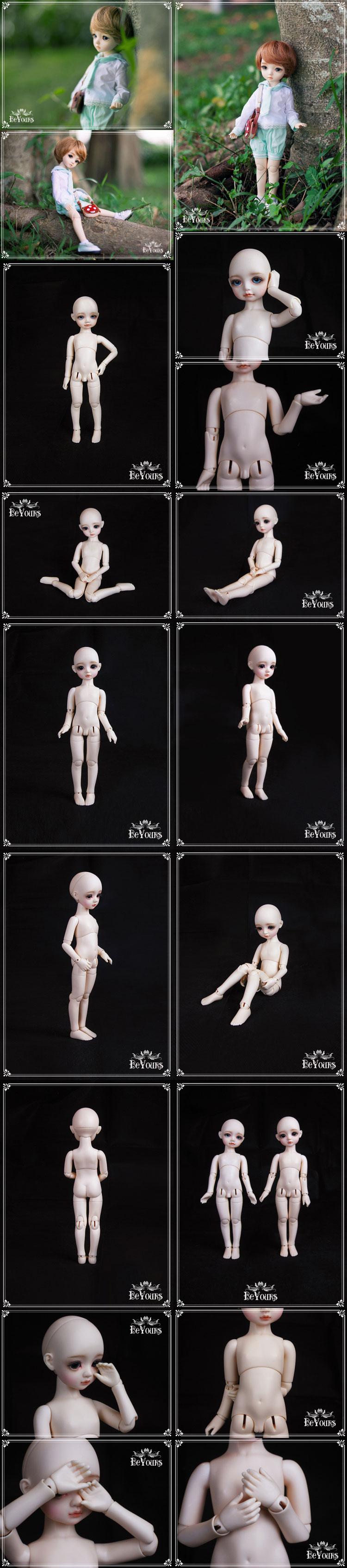 BJD Taro 27cm Ball Jointed Doll