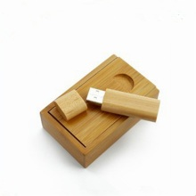Werbeartikel Custom Wood Box USB Flash Drive