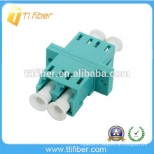 Aqua OM3 LC Fiber Optic Coupler
