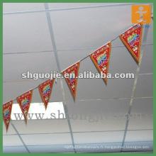 Impression de drapeaux Pennat suspendus