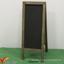 Retro, madeira, dobrando, livre, antiquado, formado, quadro-negro