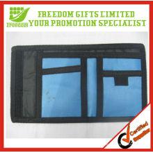 Kundenspezifische Top-Qualität Logo gedruckte Nylon Brieftasche
