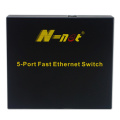 Onbeheerde Fast Ethernet POE Switch 5 poorten