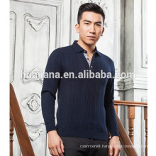 men's 100% cashmere sweater T shirt