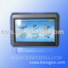 car GPS 4.3 inch with Bluetooth, FM, AV-IN(Support wireless camera)