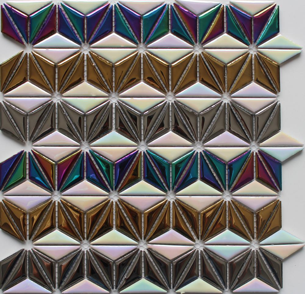 Electroplated Ceramic Mosaic