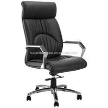 2012 new design office high back cow leather chair