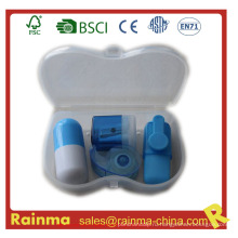Мини-канцелярские принадлежности в пластиковой коробке