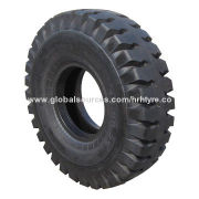 Port tire with special design and strengthened tire circle