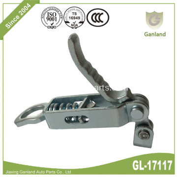 Semi Trailer Over Center Handle Latch Door Lock
