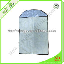 With Clear Window For Shopping Or Travel Carry Clear Plastic Garment Cover