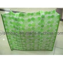 Дешевые 80GSM нетканых мода покупки сумка с ручками (YSSB00-0009)