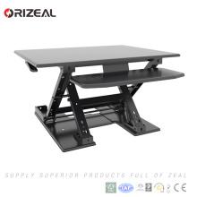 Qualité Préassembler la hauteur réglable tenir des bureaux d'ordinateur, bureau réglable en hauteur, bureau debout