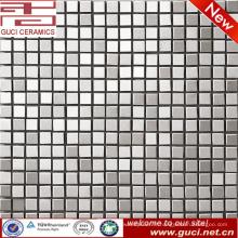 Chine fournir des produits de vente chaude argent mosaïque en acier inoxydable