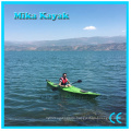One Person Plastic Boat Sea Ocean Kayak with Pedals and Rudder
