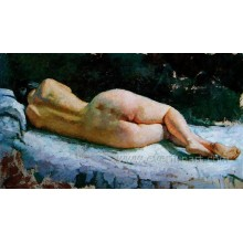 Ручная роспись Sexy Nude Women Картина картины Ebf-033