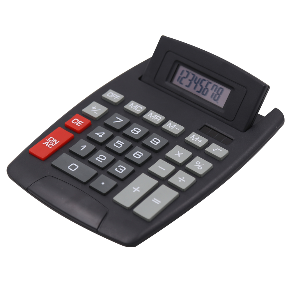 8 Digits Jumbo Desktop Calculator with Adjustable Head