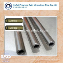 ASTM A106 Gr.B Gr. C seamless steel pipe and tube China supplier