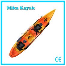 2 persona transparente Kayak barcos de pesca canoa de plástico