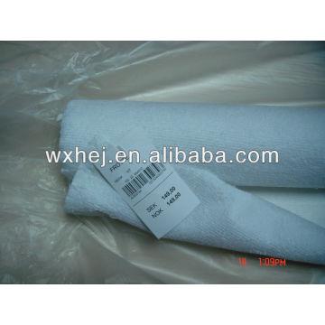 80% хлопок 20% полиэстер белая махровая ткань на складе для крышки тюфяка