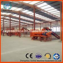 Fábrica de processamento de fertilizantes granulados de resíduos agrícolas