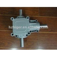 caja de engranajes de reducción de accionamiento de ángulo recto marina de fundición a presión de aluminio