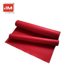 Alfombra roja alfombra de algodón respirable