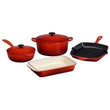 2016 Nuevo utensilios de cocina de hierro fundido namel