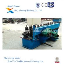 Hebei Xinnuo-Stahlblech-Profil-Aluminiumplatten-Rolle, die Maschine für C & U-Purline Manufacturing bildet
