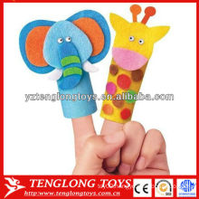 baby toy animal style finger hand puppet set