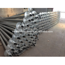Ground Screw Piles for Greenhouse and Fence