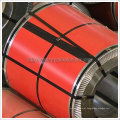 Bobina de aço galvanizado Prepainted vermelha luminosa