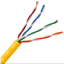 UTP Cat5e LAN Cable Yellow 0.45mm CCA 305m/Roll