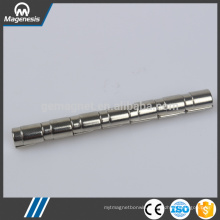 China gold manufacturer new arrival wedge ferrite magnet