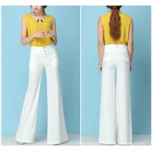 15PKPT03 2014-15 Lady multi couleur casual 55/45 tube pantalon de lin