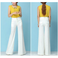 15PKPT03 2014-15 Lady multi colour casual 55 / 45 tube linen pants