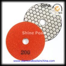 Angle Grinder Dry Diamond almohadilla de pulido