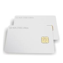 Контактная микросхема SLE4442 Смарт-карта 256 байт памяти