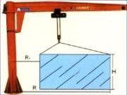 BZD Electric Full-Rotation Jib Crane