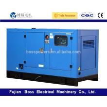 Weichai motor diesel para 75KW 60HZ generador de energía en silencio